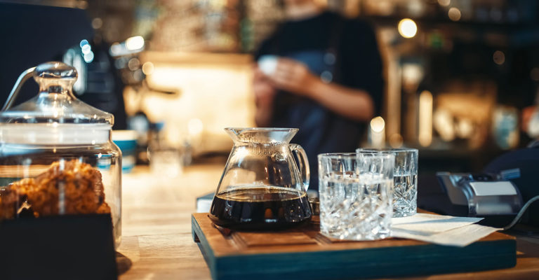 water for baristas