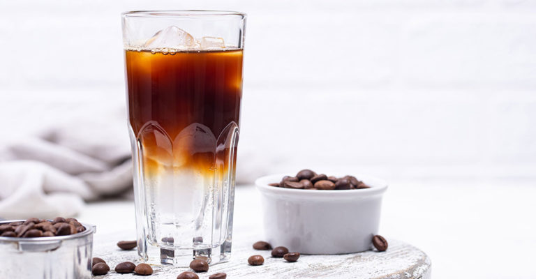 water for iced coffee
