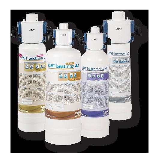 Our Range of Bestmax filters: Premium, Smart, Bestprotect and, Besttaste.
