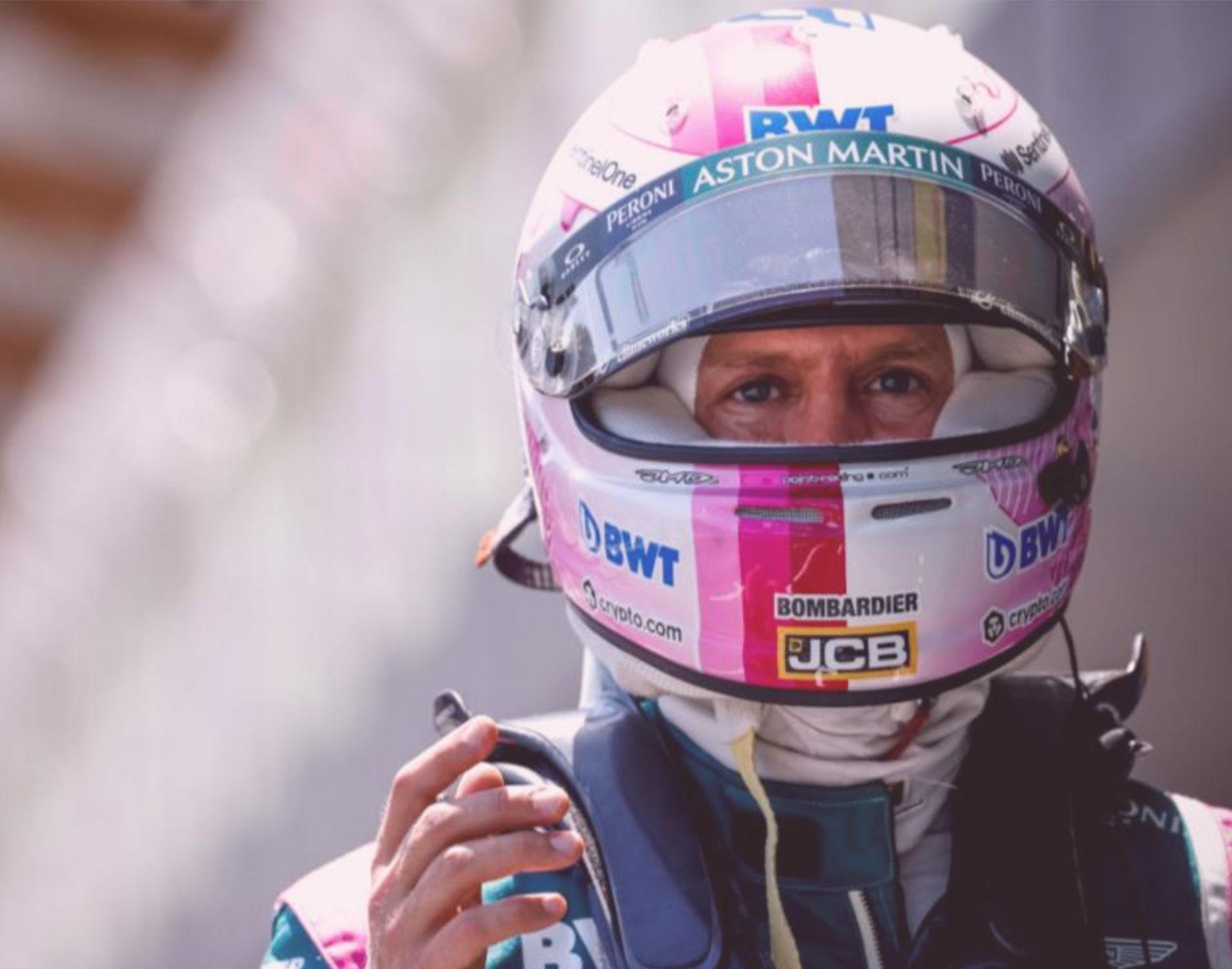 First Podium for Sebastian Vettel