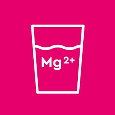 Balanced water mineralisation